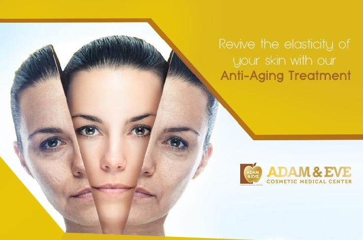 Revive The Elasticity Of Your Skin With Our Anti Aging Treatment